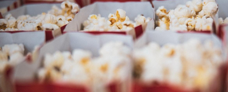 popcorns - spragėsiai kino teatruose