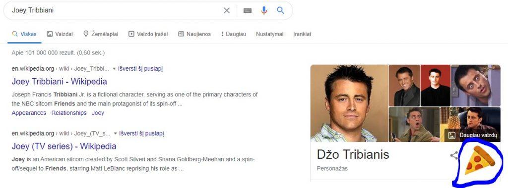 """Google pokštai - serialas """"Draugai"""""""