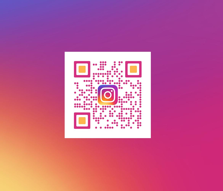 Instagram QR kodai