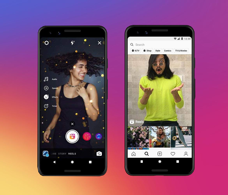 Instagram Reels - Tik Tok alternatyva